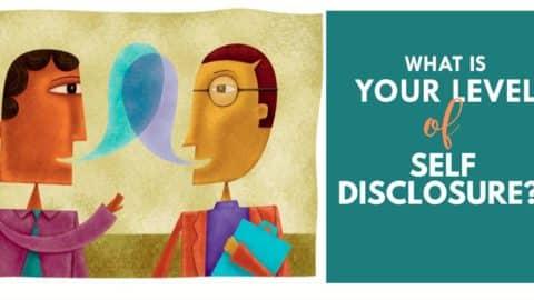 Self Disclosure: Mental Health Assessment