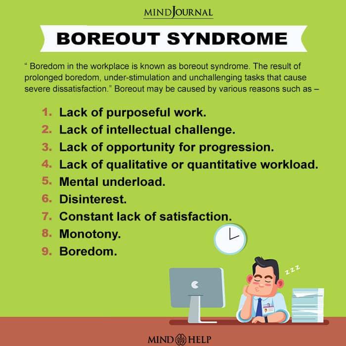 Boreout Syndrome