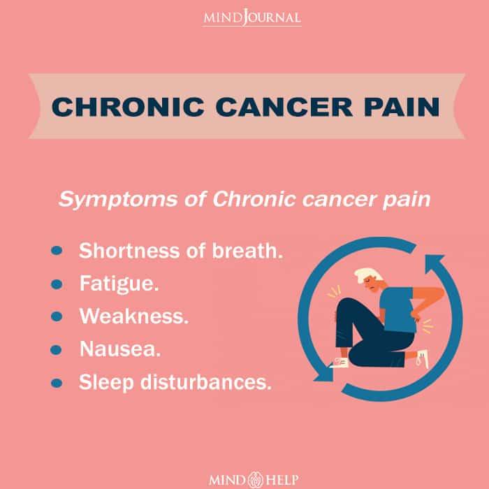 Chronic cancer pain