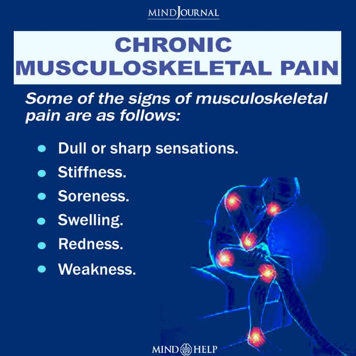Chronic musculoskeletal pain