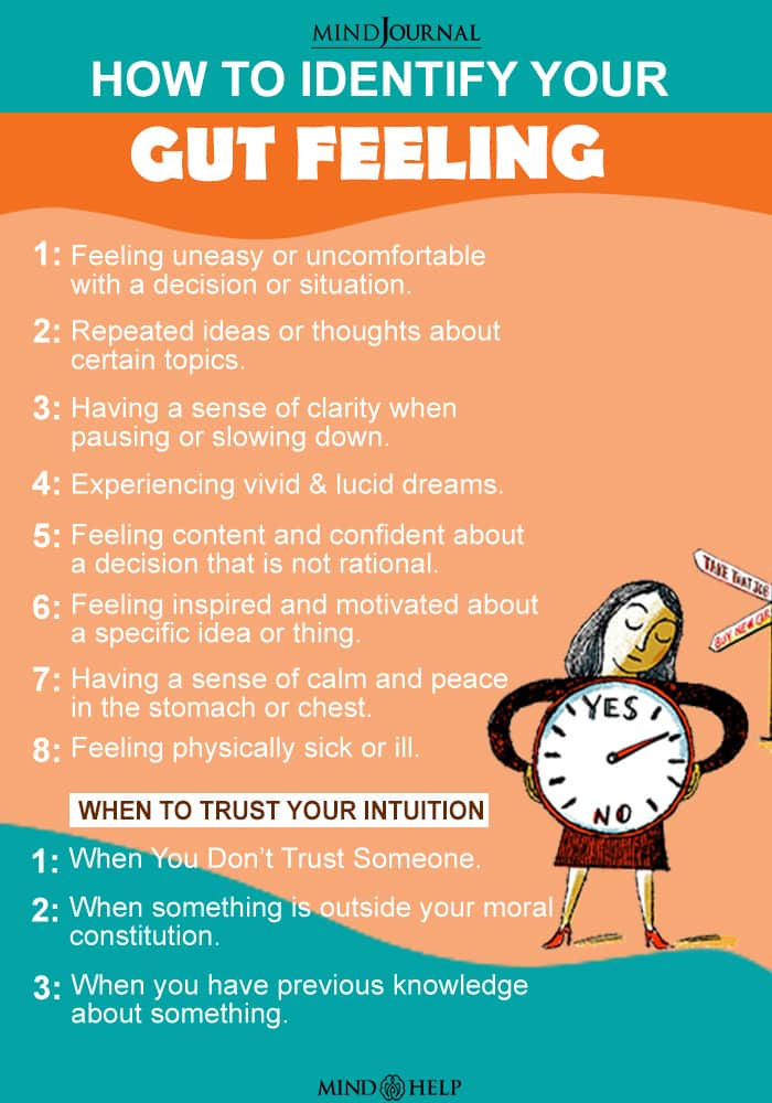 How To Identify To Your Gut Feeling