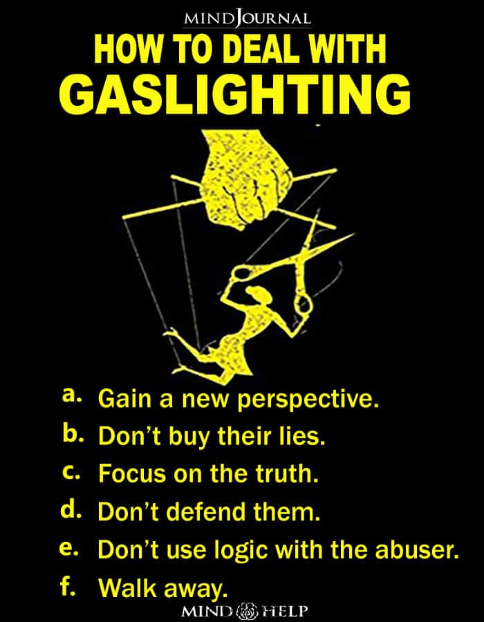 How To Deal With Gaslighting