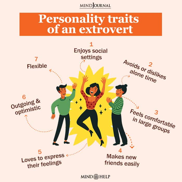 Personality Traits Of An Extrovert