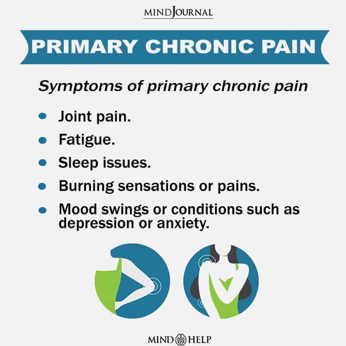 Primary chronic pain