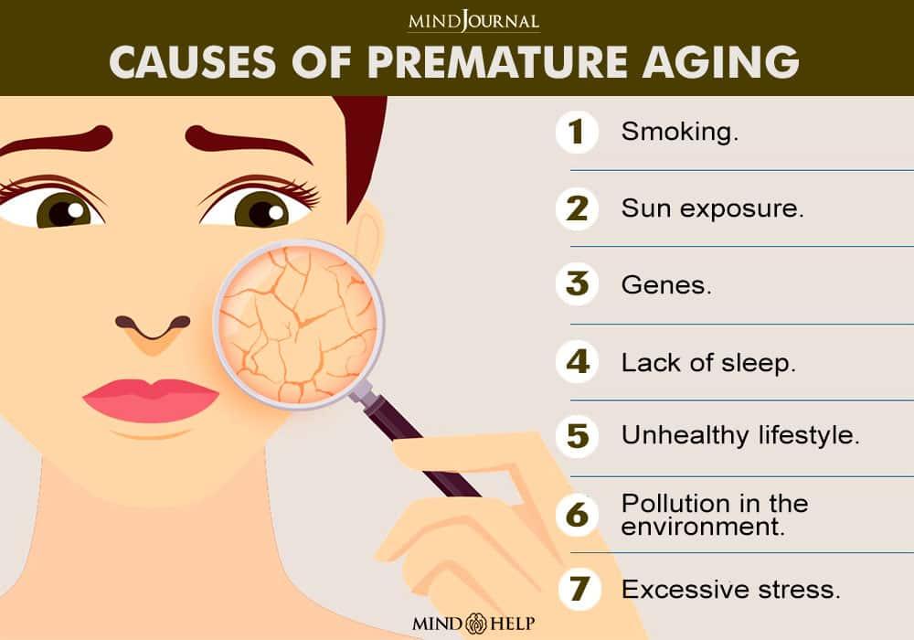 Causes Of Premature Aging