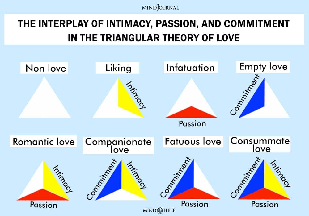 The Interplay Of Intimacy, Passion And Commitment