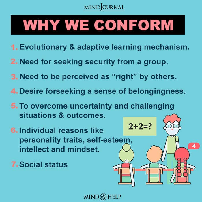 Why We Conform To Majority Influences