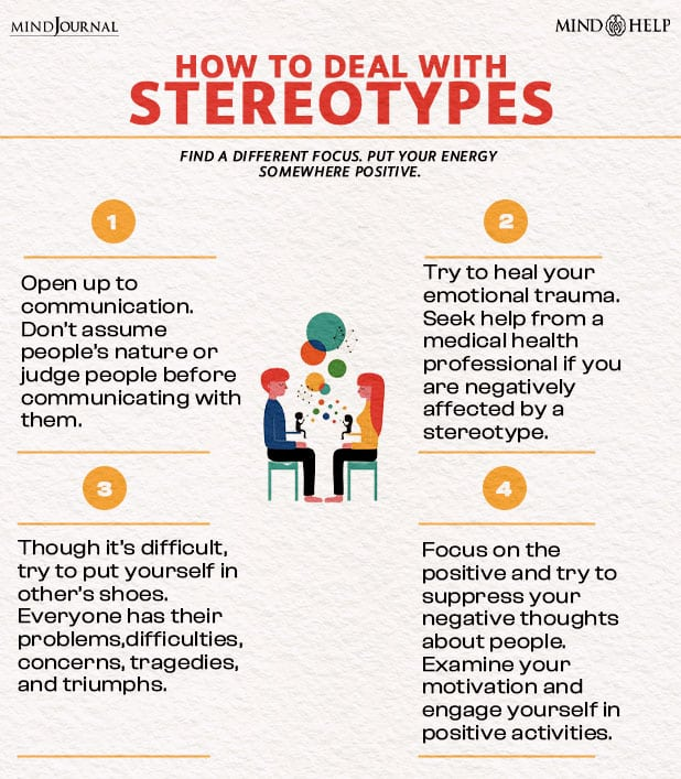 how to deal with stereotypes