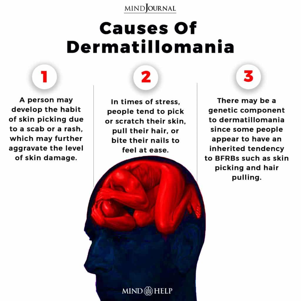 Causes Of Dermatillomania