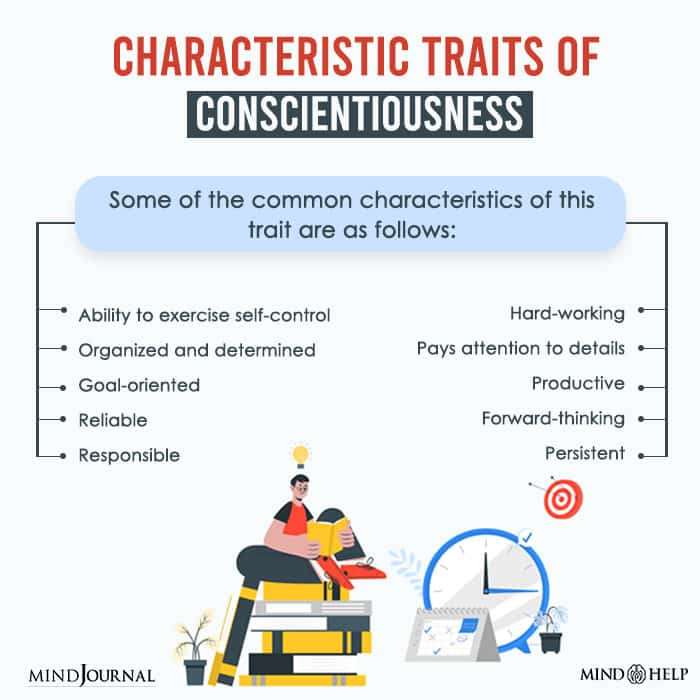 Common Characteristics Of Conscientiousness
