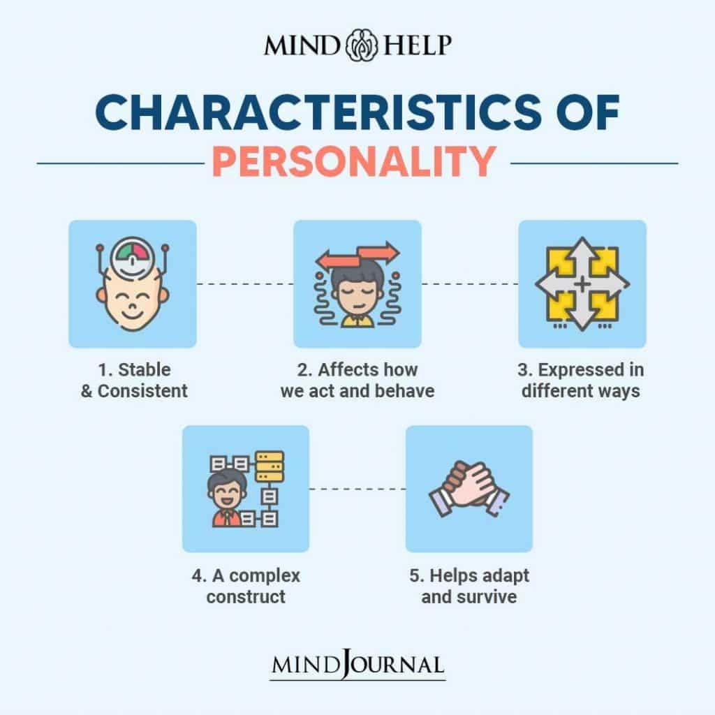 Characteristics Of Personality