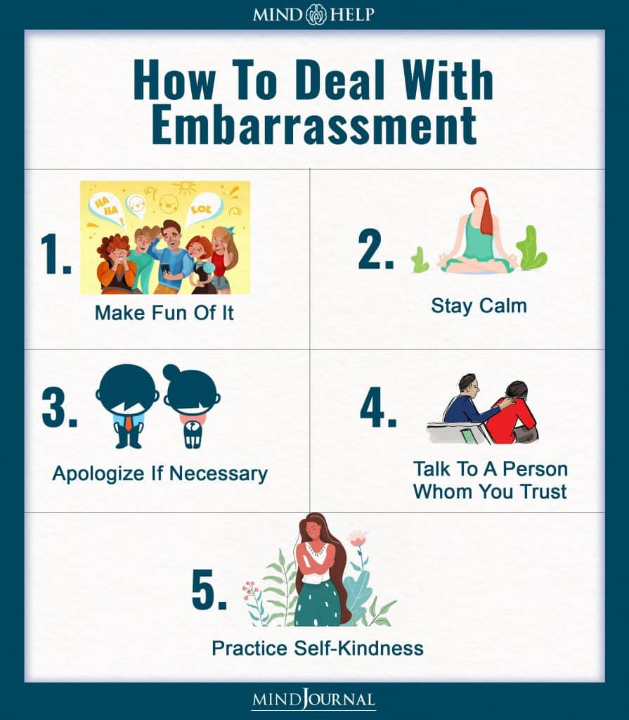 How To Deal With Embarrassment