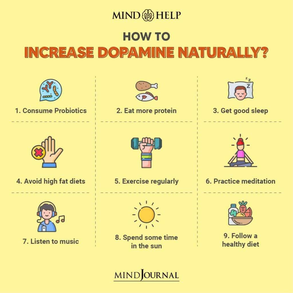 Ways To Increase Dopamine