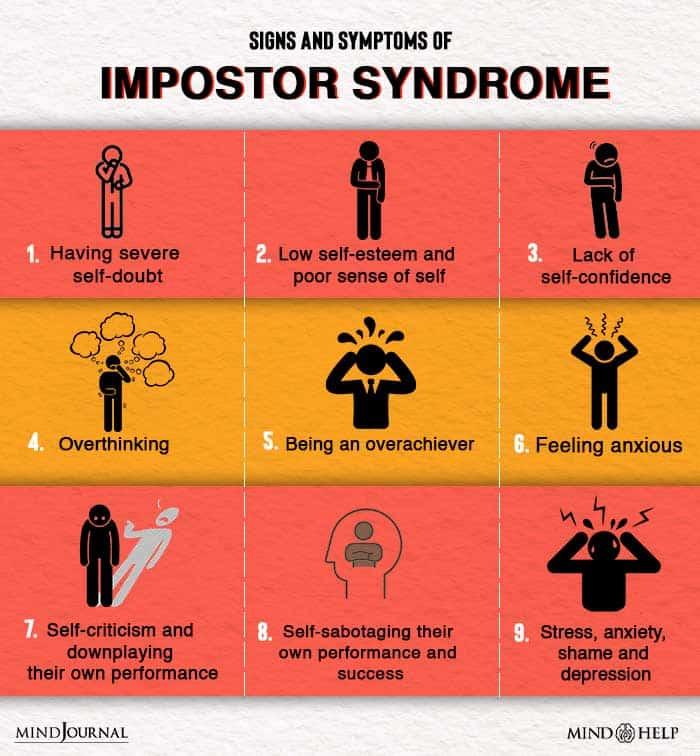 Symptoms Of Impostor Syndrome