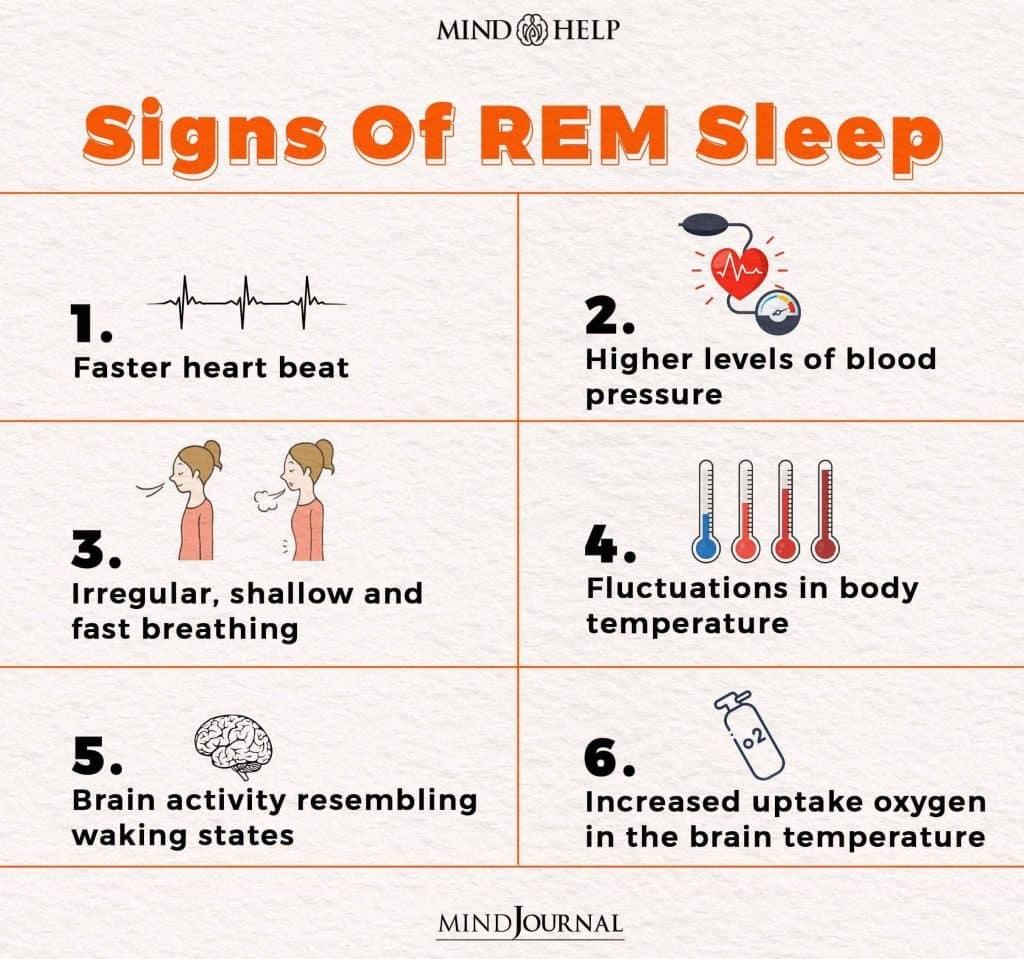 Signs Of REM Sleep