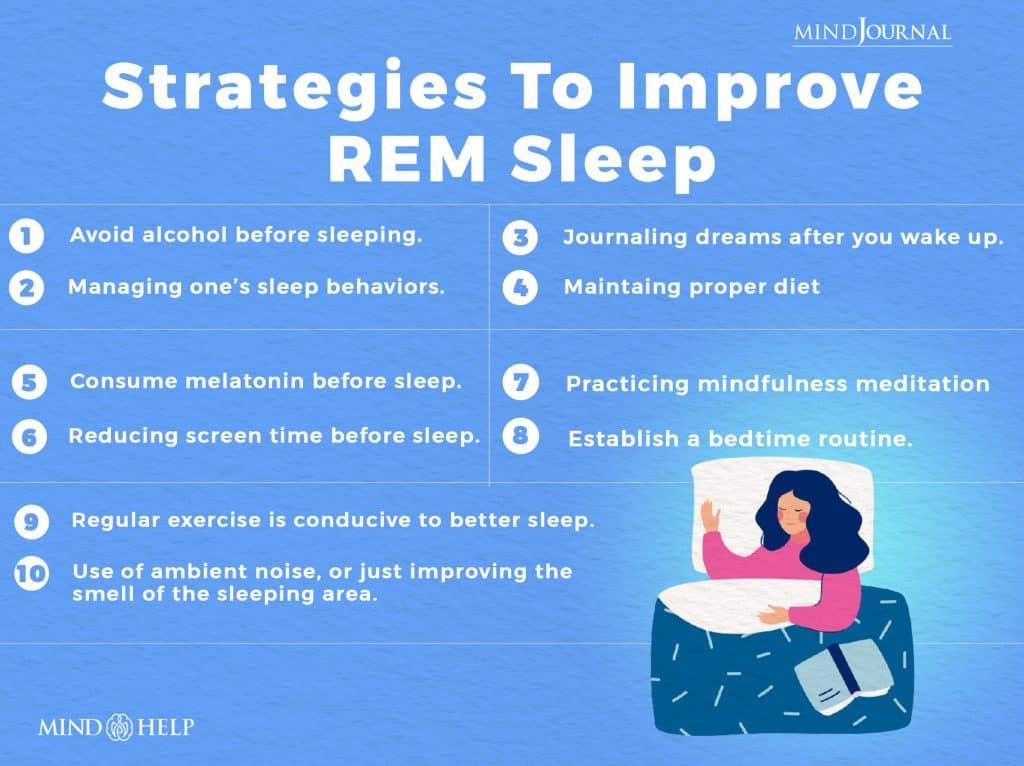 Strategies To Improve REM Sleep