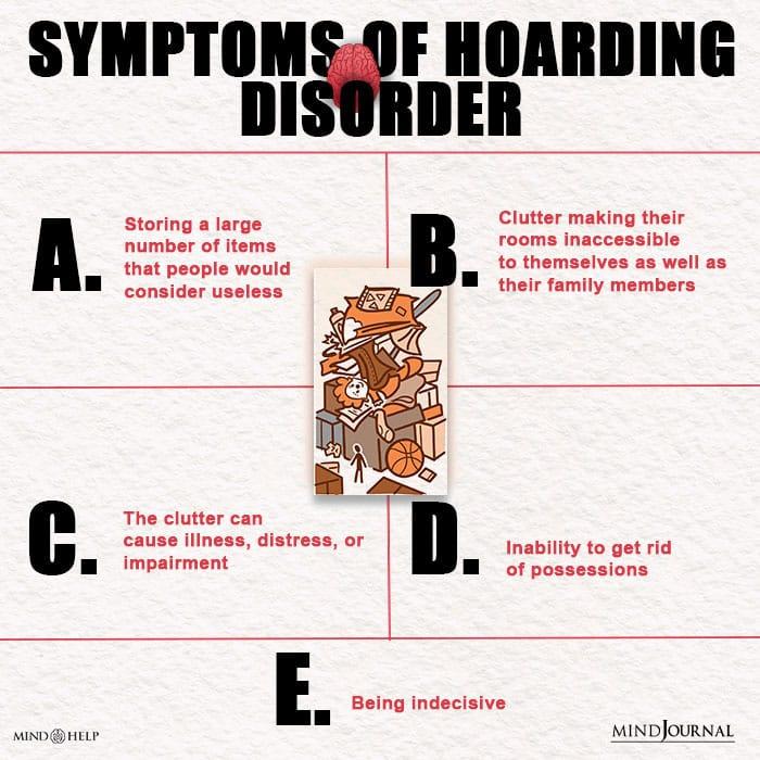Symptoms Of Hoarding Disorder