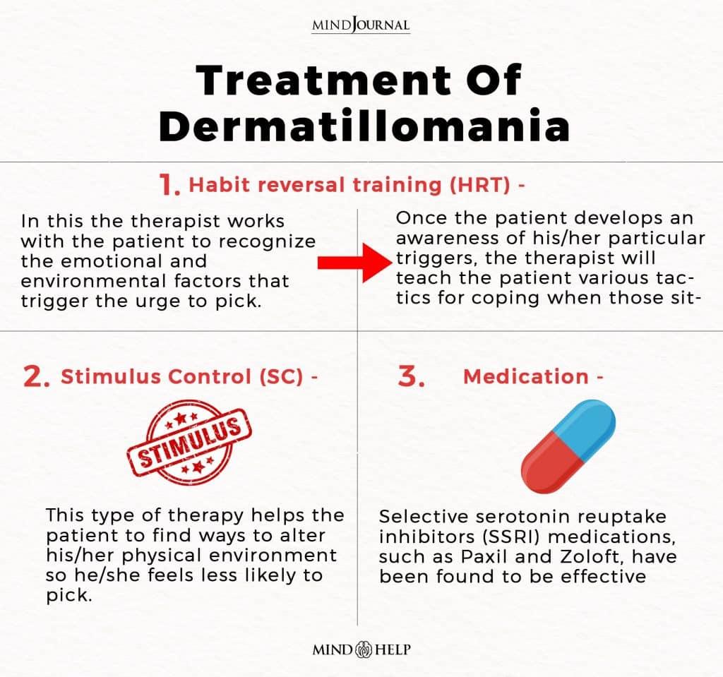 Treatment Of Dermatillomania