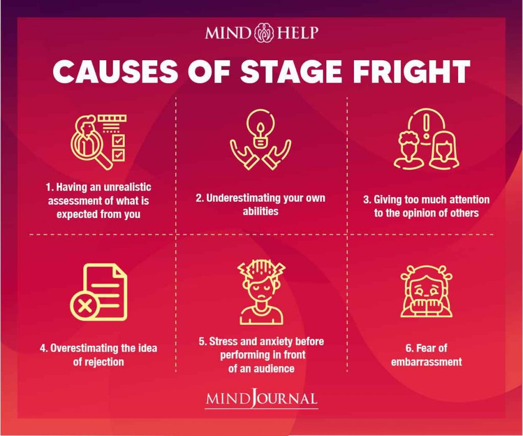 Causes Of Stage Fright