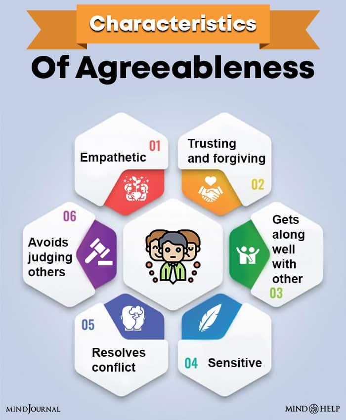 Characteristics Of Agreeableness