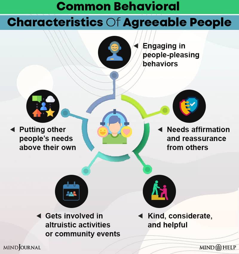 Common Behavioral Characteristics Of Agreeable People