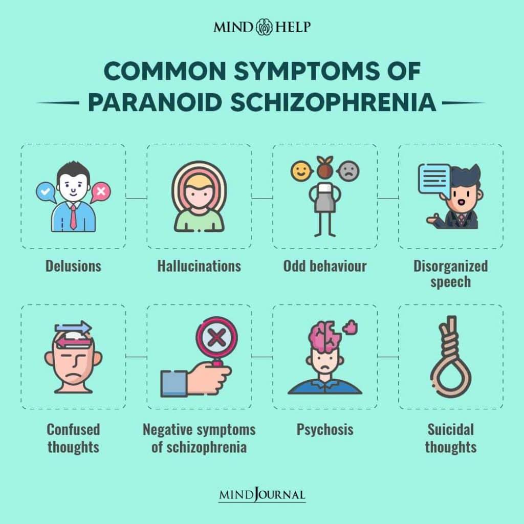 Symptoms Of Paranoid Schizophrenia