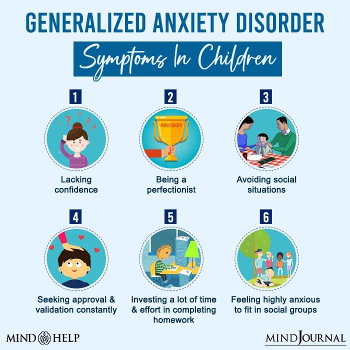 Generalized Anxiety Disorder Symptoms In Children