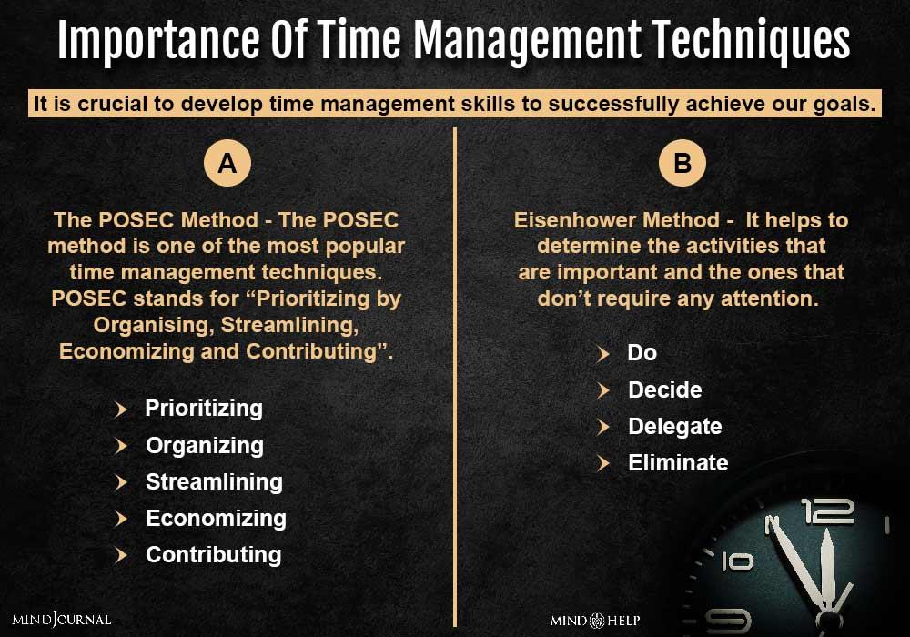 importance of time management techniques