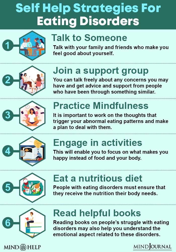 Self Help Strategies For Eating Disorders