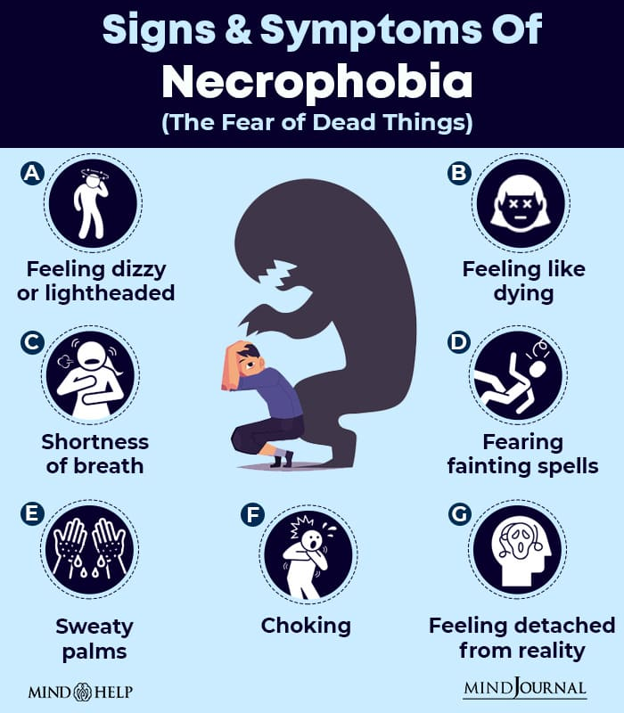 Signs & Symptoms Of Necrophobia