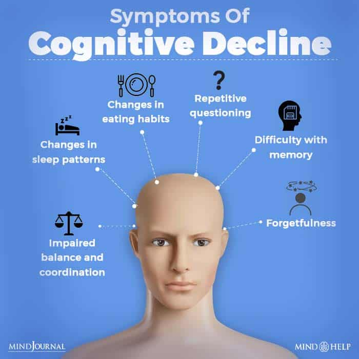 Symptoms Of Cognitive Decline