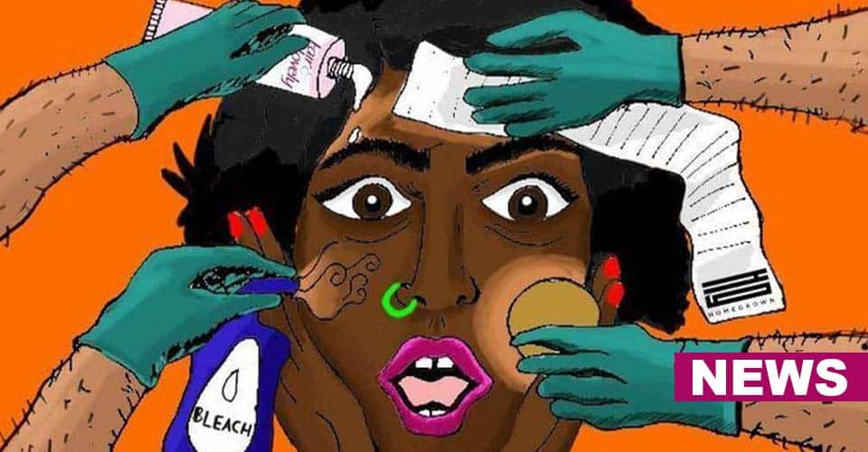 Women sharing stories of being the victims of colorism