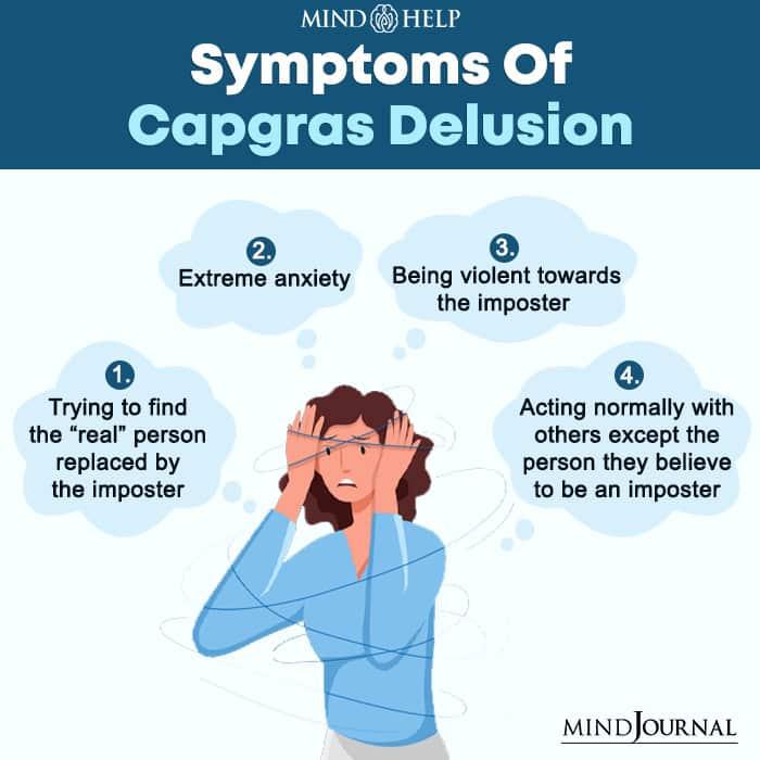 Symptoms Of Capgras Delusion