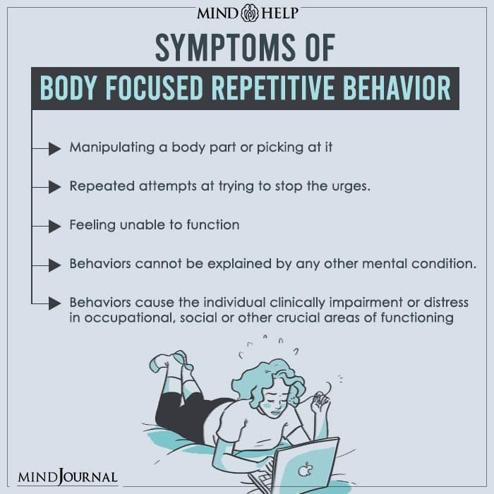 Symptoms Of Body Focused Repetitive Behavior