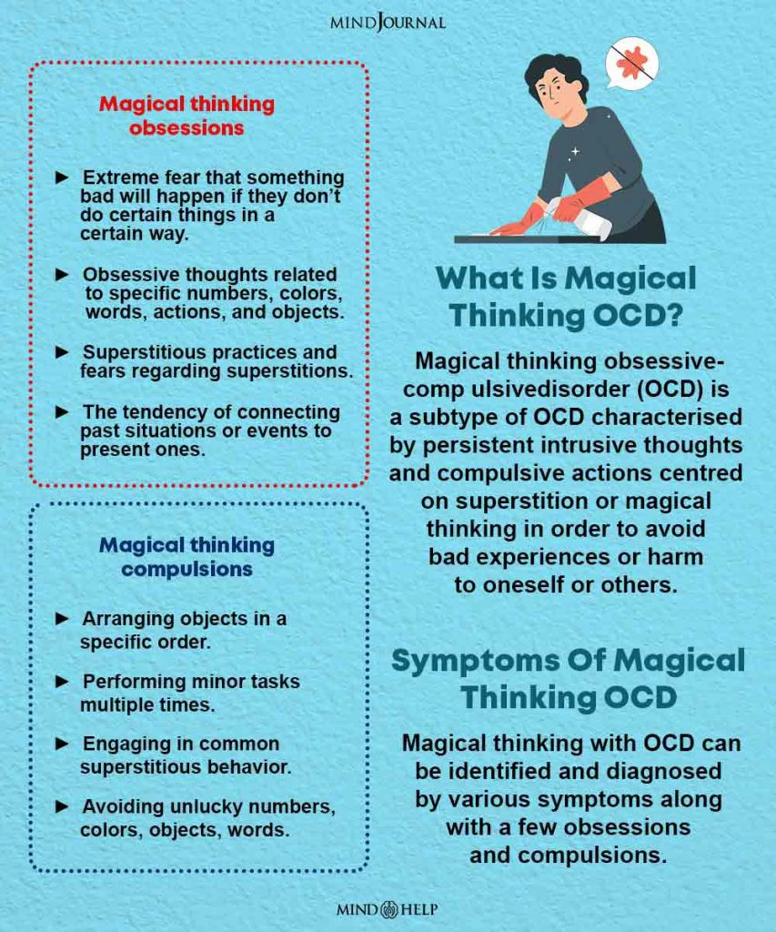 magical thinking ocd infographic